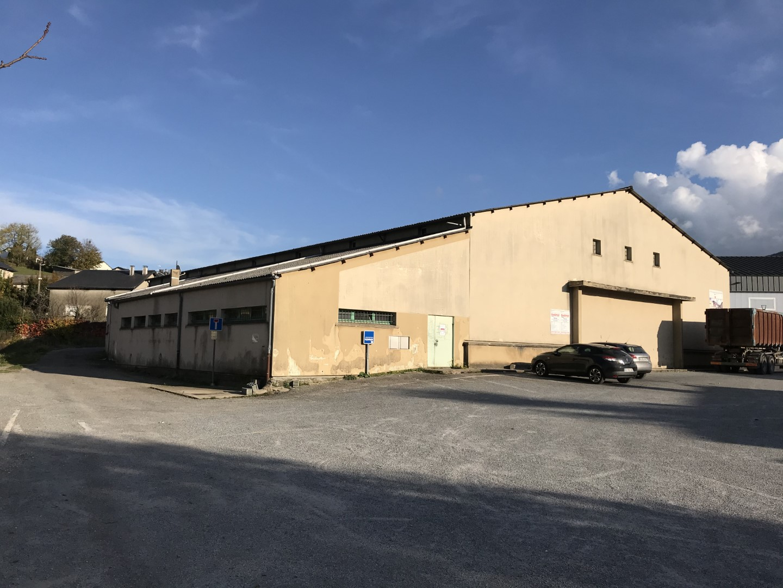 Désamiantage de la salle des sports à Lacaune (81)